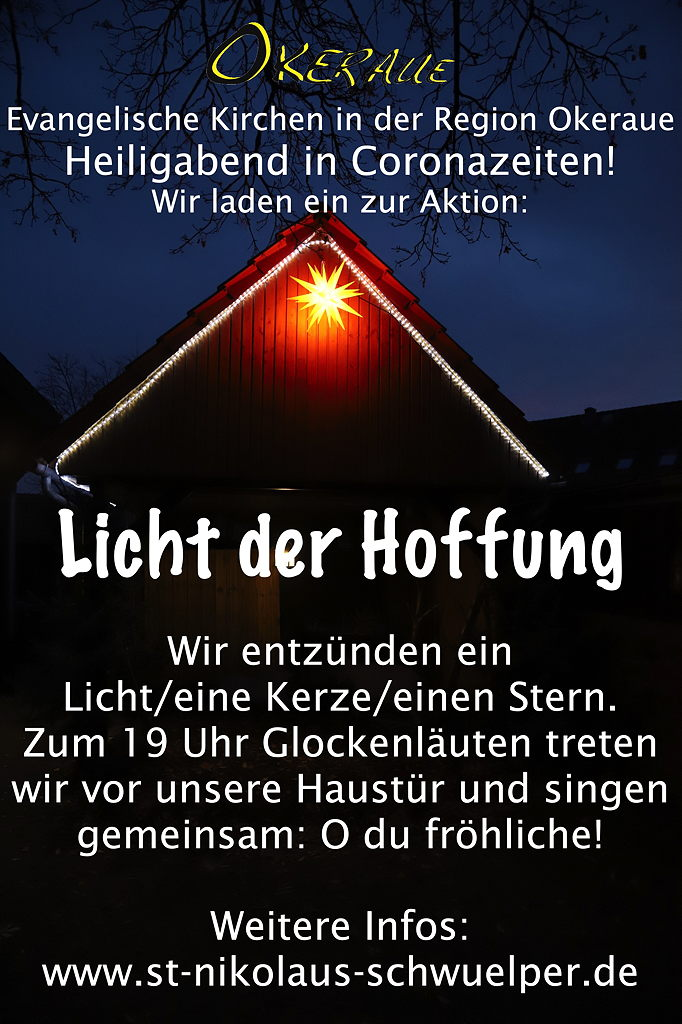 Einladung zum Licht der Hoffnung