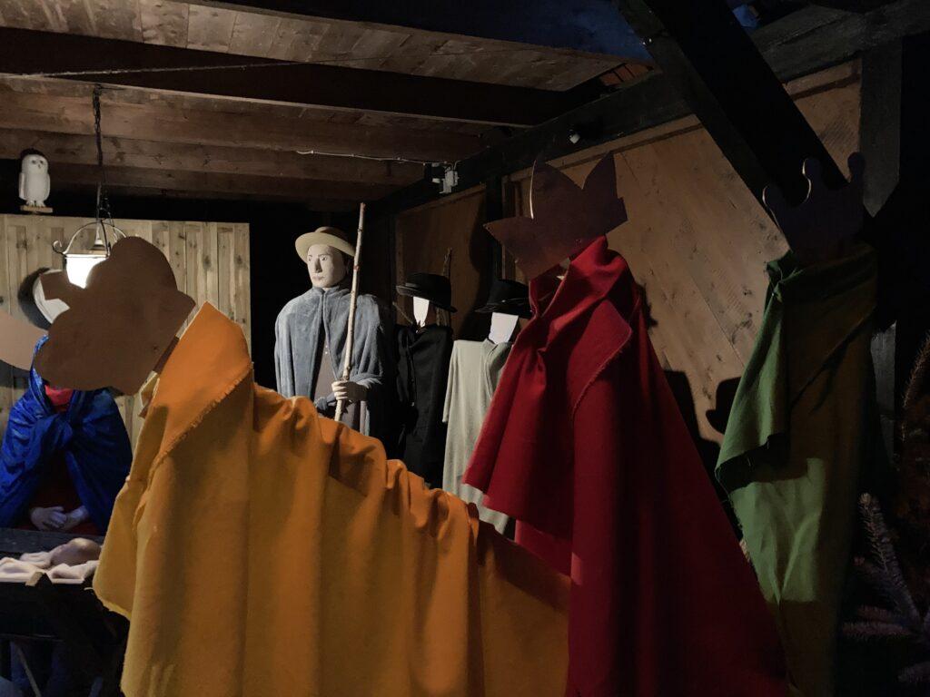 Die Heiligen Drei Könige am Stall von Bethlehem in Schwülper